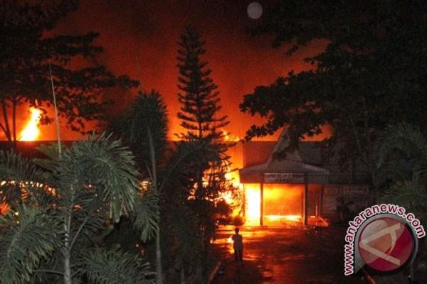 Seorang narapidana LP Tanjung Gusta tewas terbakar