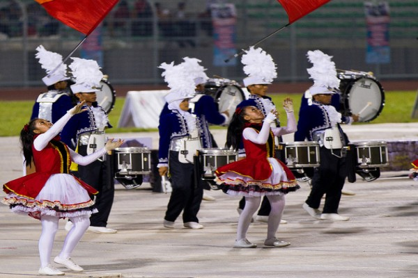 Gita Surosowan marching band off to Netherlands