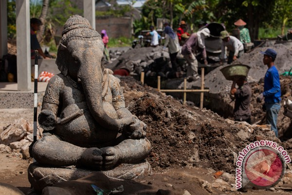 Patung Ganesha bersejarah ditemukan di Bantul