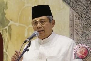 Presiden Yudhoyono berbuka puasa bersama para capres