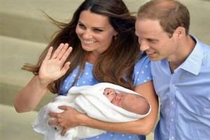 William, Kate perlihatkan bayi mereka di depan umum