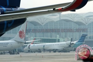 Penerbangan di Kualanamu normal setelah senggolan pesawat Lion dan Wing Air
