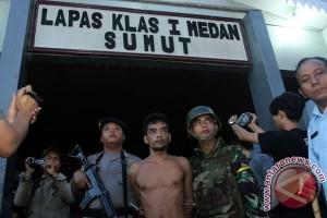 98 napi Lapas Tanjung Gusta belum tertangkap