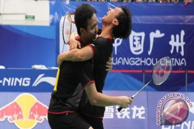 Hendra/Ahsan raih peringkat dua Kejuaraan Asia 2015