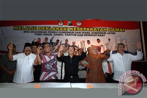 Pasangan Pilkada Jatim berencana kampanye rapat umum