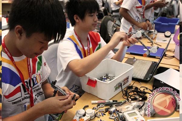 Yuk lihat olimpiade robot Indonesia
