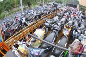 Sepeda motor mudik gratis tiba di Giwangan Yogyakarta