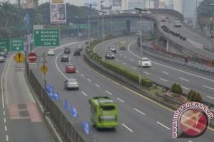 Lalin Jakarta lancar Minggu pagi