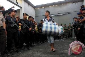Evakuasi 500 narapidana Lapas Labuhan Ruku segera dilakukan