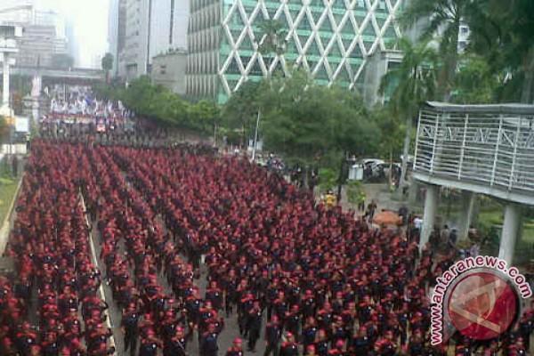 Buruh berencana gelar mogok nasional 28--30 Oktober