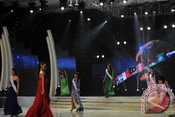 Pendapat kontestan soal ajang Miss World di Indonesia