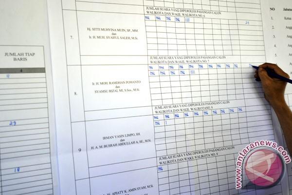 Rekapitulasi penghitungan suara Jateng diumumkan 25 April
