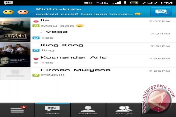 BBM untuk Android sudah tersedia di Google Play