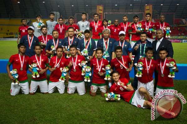 Medali Perak Sepak Bola ISG III  Foto ANTARA News
