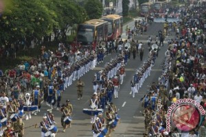 "Bali juarai ""Jember Open Marching Band Competition"""