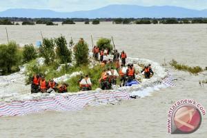 Banjir di China renggut 100 nyawa dan hancurkan sawah
