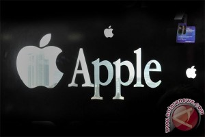 Apple masuk indeks saham blue-chips DJIA