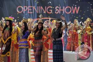 Parade busana nusantara akhiri pembukaan Miss World