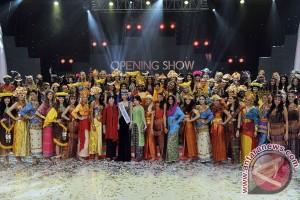 Ratusan polisi amankan kunjungan kontestan Miss World