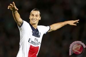 Ibrahimovic membuat PSG tetap di jalur treble