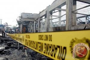 Pasar ikan Lhokseumawe ludes terbakar