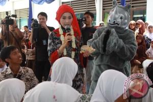 "Desy Ratnasari ingin anak Indonesia cintai ""game"" tradisional"
