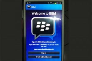 BBM akan langsung tersedia di smartphone Android