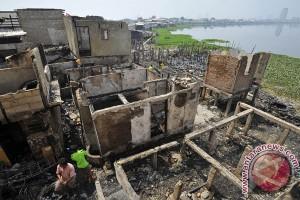 Belasan rumah terbakar di Kabupaten Banjar