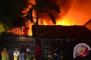 Puluhan rumah di Kotabaru hangus terbakar