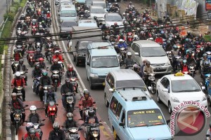 Traffic congestion in Jakarta inflicts losses of Rp65 trillion annually