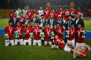 Indonesia gagal persembahkan emas sepakbola