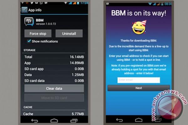 Cara ganti PIN BBM atau BB ID di Android