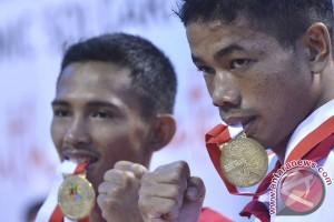 Klasemen akhir perolehan medali ISG 2013 Palembang