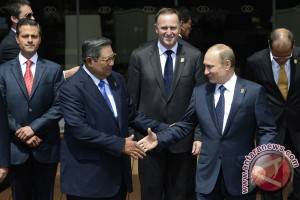 Vladimir Putin dan Xi Jinping tinggalkan Bali