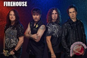 "FireHouse guncang ""Kukar Rockin Fest"" 2015"