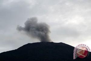 Gunung Marapi sumbar status waspada