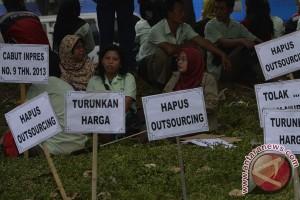 Demo Buruh Pulogadung