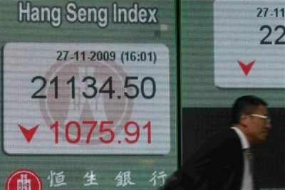 Indeks saham Tiongkok anjlok 1 persen, tapi Hang Seng naik