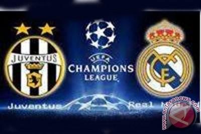 Susunan pemain Real Madrid vs Juventus