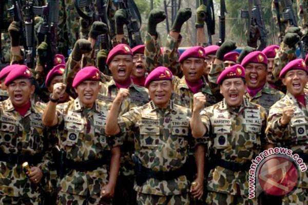 Pembangunan markas Batalion Infantri 1 Korps Marinir diresmikan
