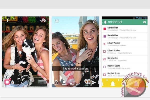Jumlah penonton video Snapchat naik tiga kali lipat