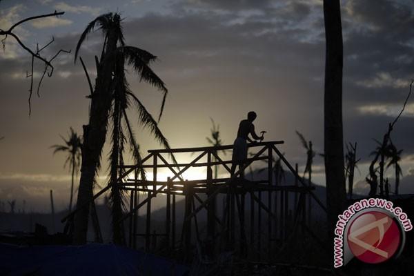 Korban tewas akibat Topan Haiyan Filipina naik jadi 5.209
