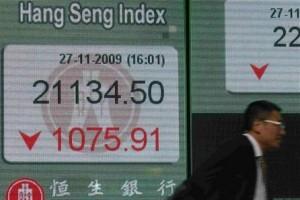Indeks Hang Seng ditutup turun 0,9 persen