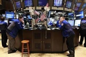 Wall Street turun tajam terseret saham keuangan dan teknologi