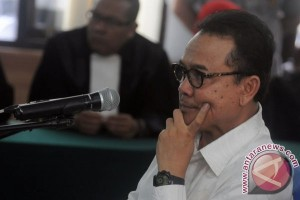 Status Rusli Zainal tanggung jawab hakim tipikor