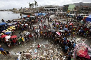 Korban topan Haiyan di Filipina jadi 3.637 jiwa