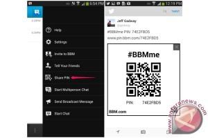 BlackBerry perbarui BBM untuk Android dan iOS