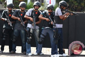 Densus tangkap terduga teroris jaringan Dulmatin
