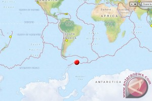 CENC: Gempa 7,8 skala richter guncang Laut Scotia