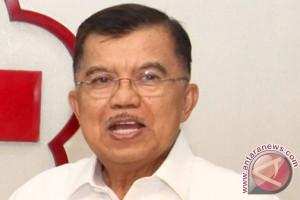 Jusuf Kalla lepas misi kemanusiaan PMI ke Filipina